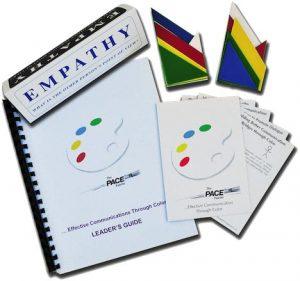 Effective Communication Through Color, Pace Palette Trainer set