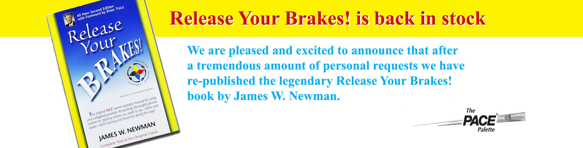 release your brakes book